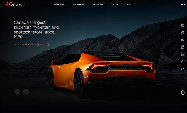 Web Design: 27 Modern Website UI / UX Design Examples - 27