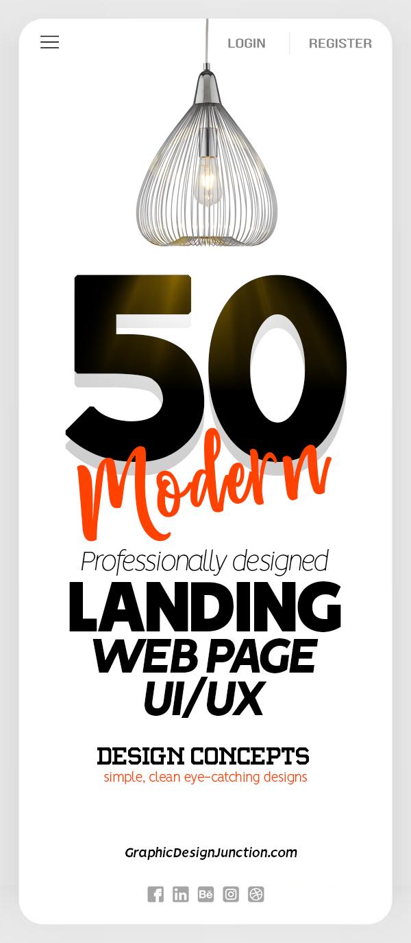 50 Landing Page UIUX Design