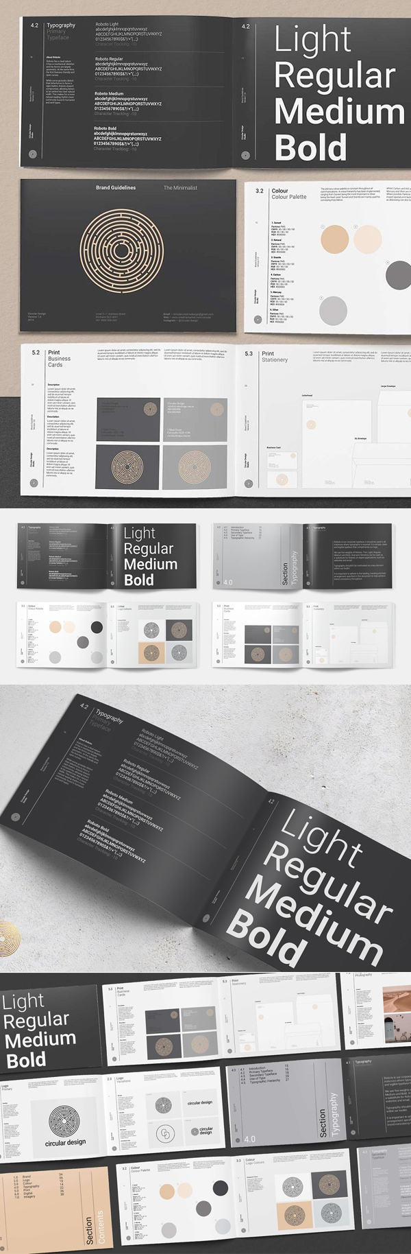 Creative Brand Guidelines Template