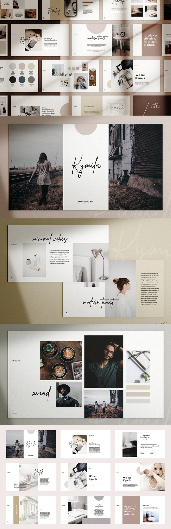 Kymila - PowerPoint Brand Template