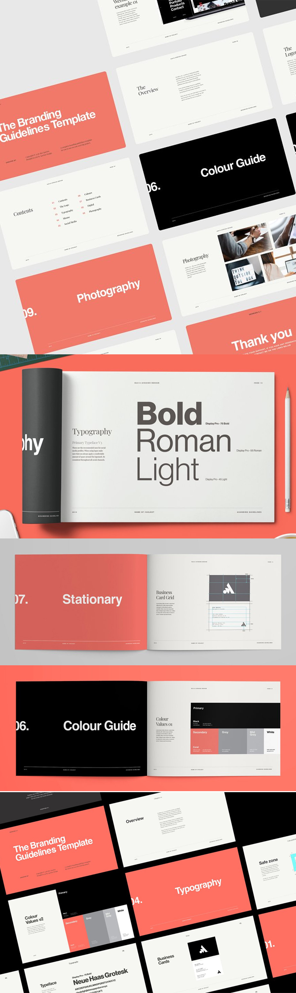Minimal Brand Guidelines Template