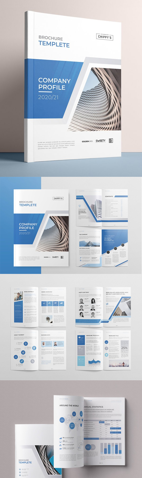 The Profile Brochure Template