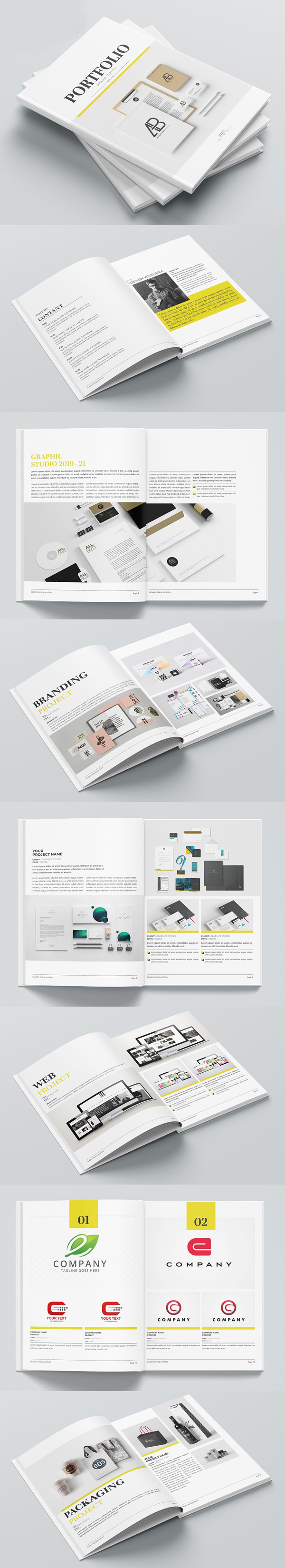Minimal Brochure / Catalogs Template