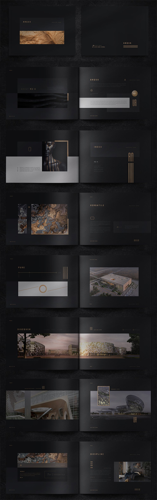 Anqua Portfolio / Brochure