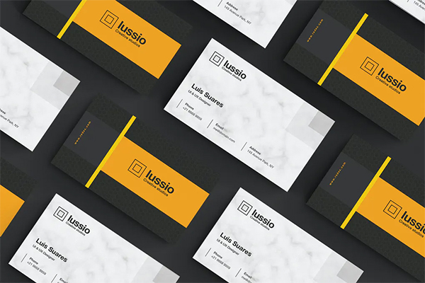 Fresh Business Card Design