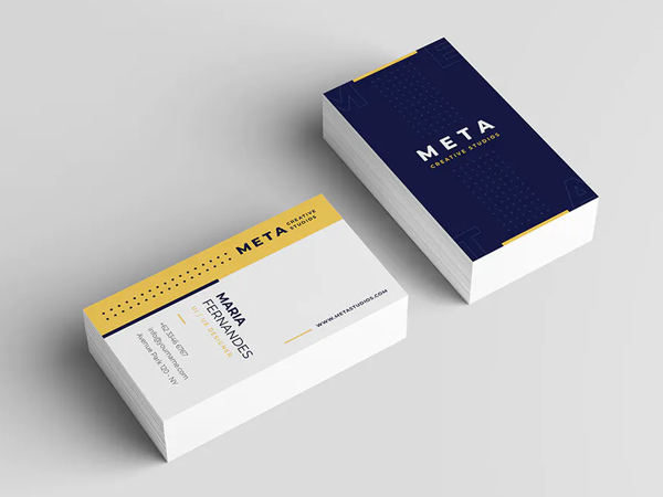 Unique Fresh Business Card Design
