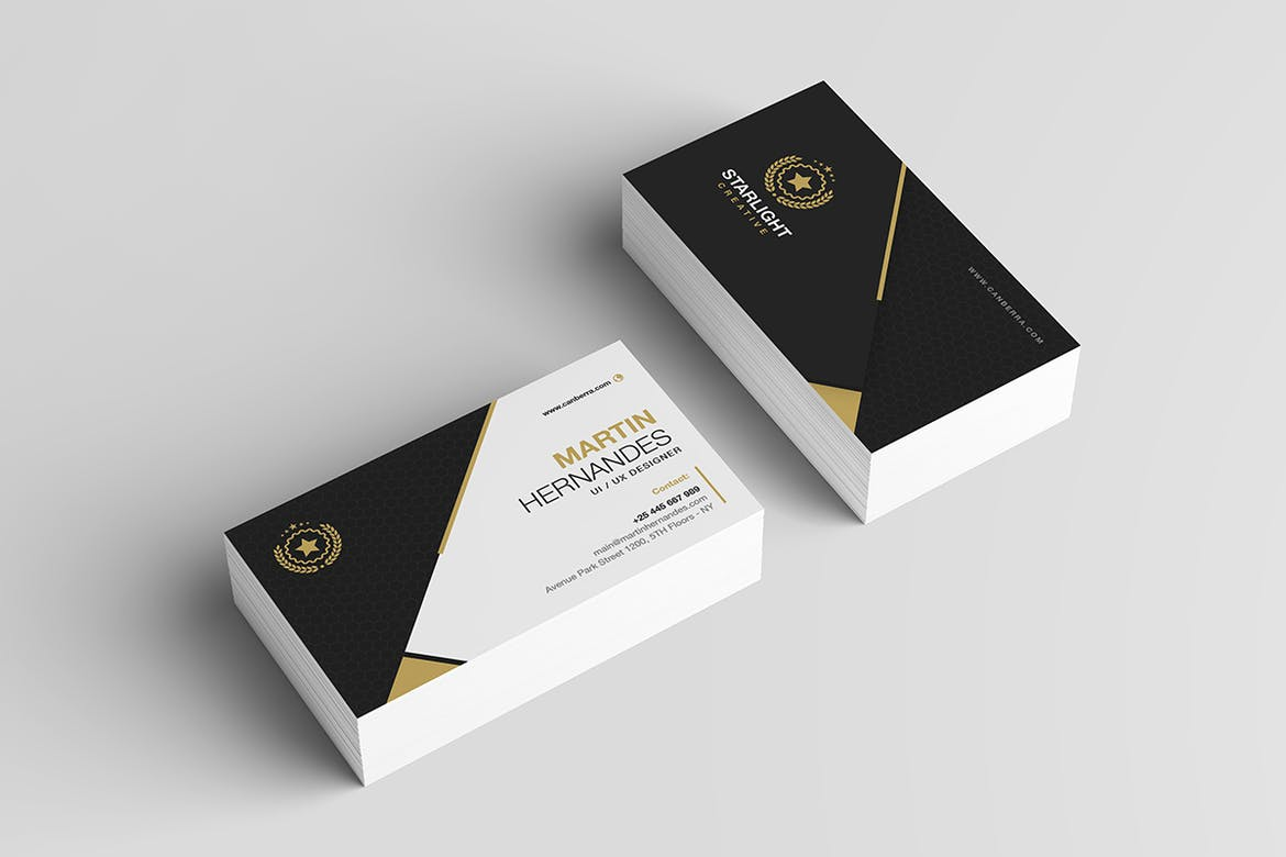 Elegant Best Business Card Template