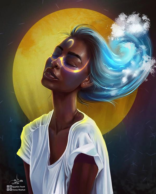 Amazing Digital Paintings By Hanaa Medhat - 1