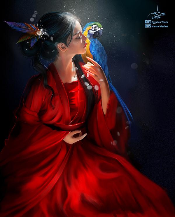 Amazing Digital Paintings By Hanaa Medhat - 13