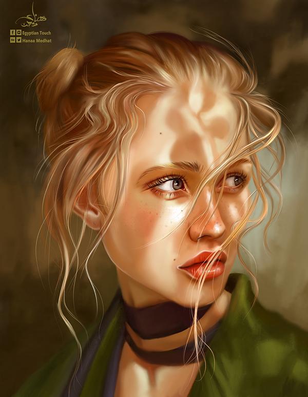 Amazing Digital Paintings By Hanaa Medhat - 17