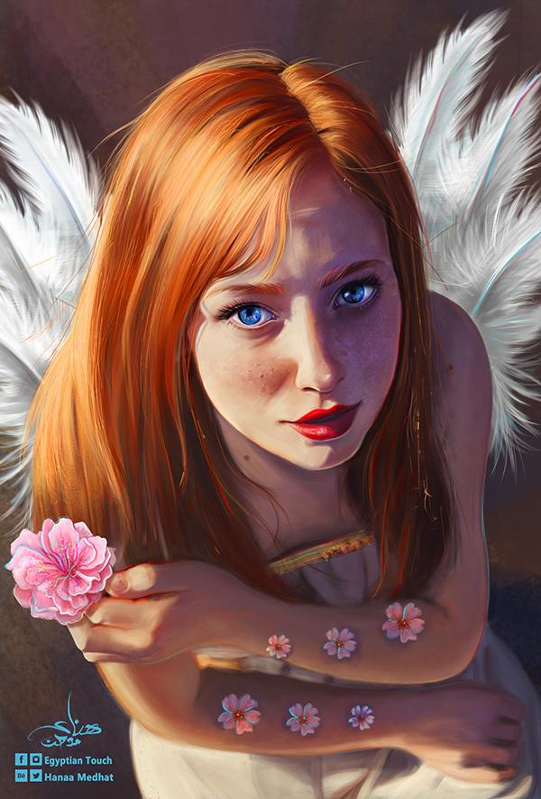 Amazing Digital Paintings By Hanaa Medhat - 19