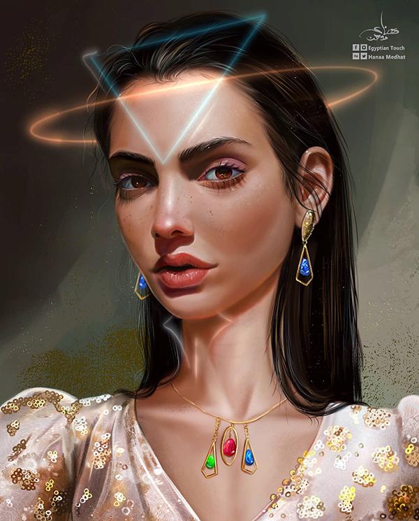 Amazing Digital Paintings By Hanaa Medhat - 4
