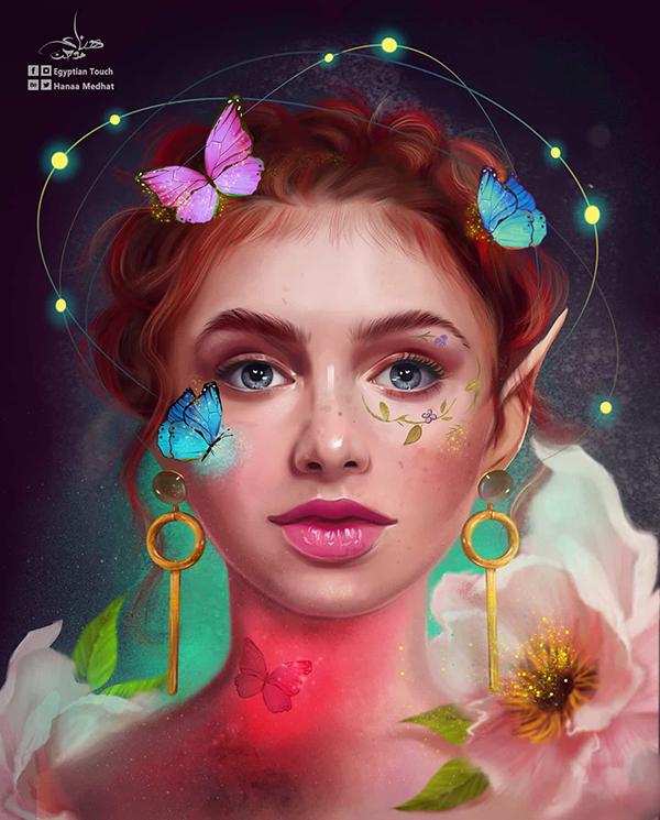 Amazing Digital Paintings By Hanaa Medhat - 8