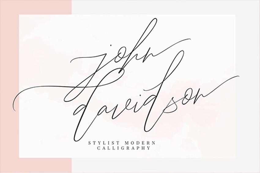 John Davidson Script