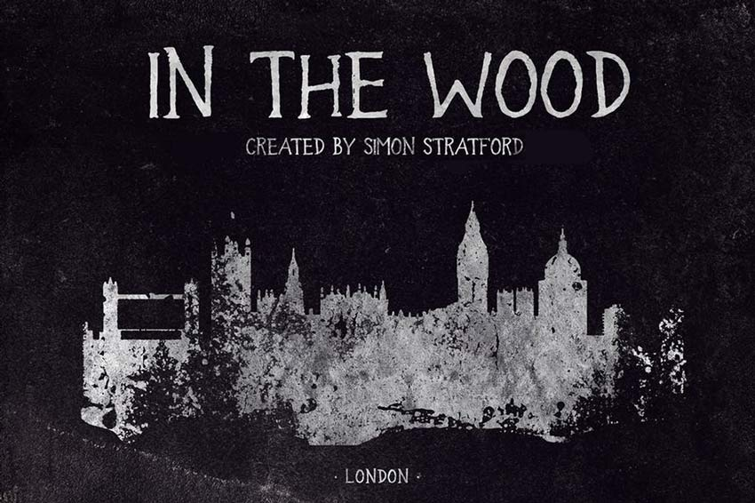 In The Wood Creepy Font