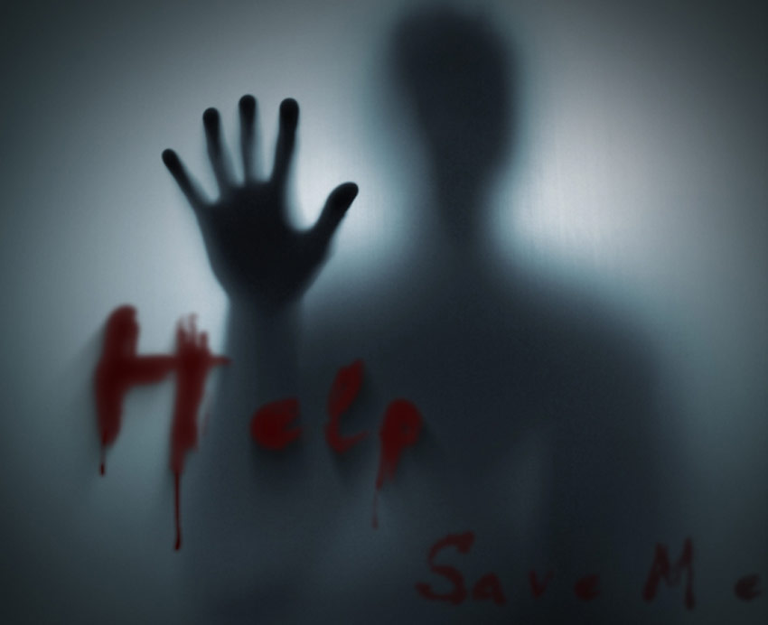 Blood Fingers Horror Movie Font