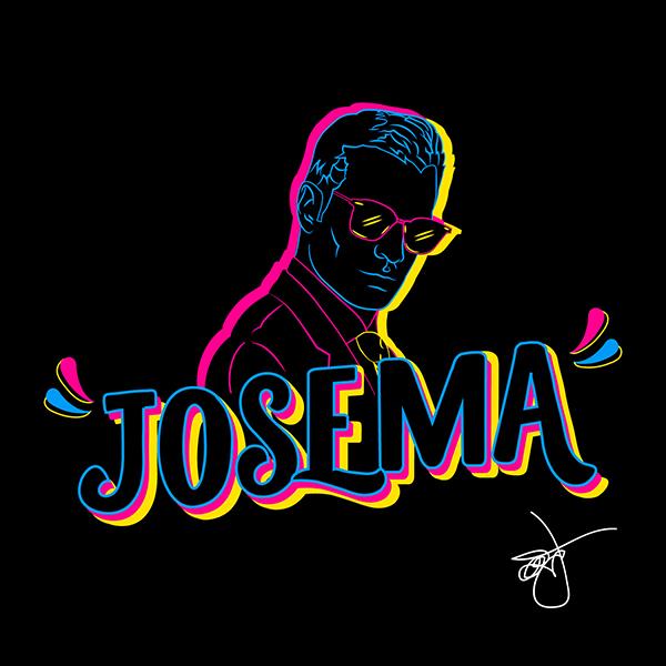 Lettering chicha by Josemaria Laiza