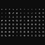 Mono Icons: 136+ free SVG icons for UI design