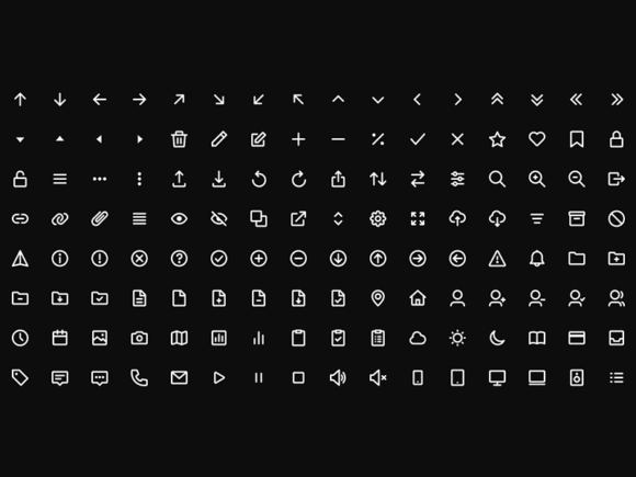 Mono icons presentation image