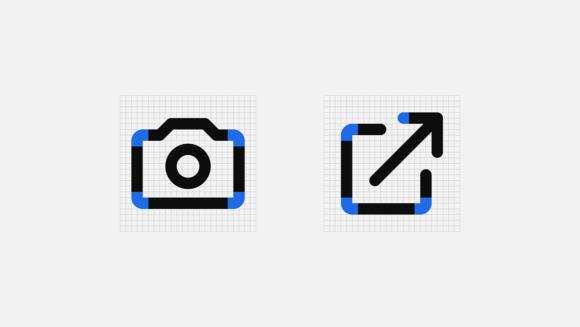 Mono icons stroke