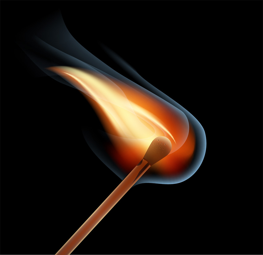 vector flames illustrator