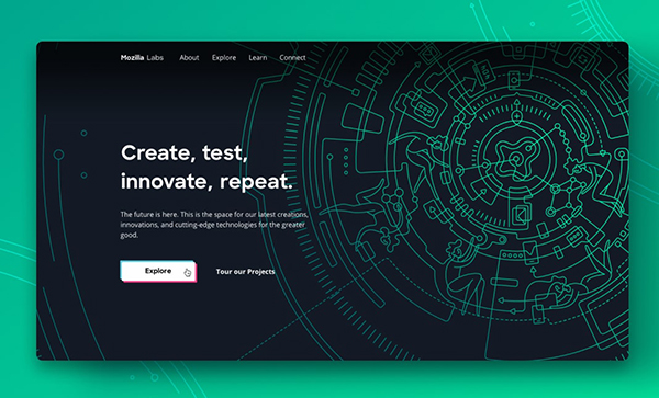 Web Design: 35 Creative UI/UX Websites for Inspiration - 1