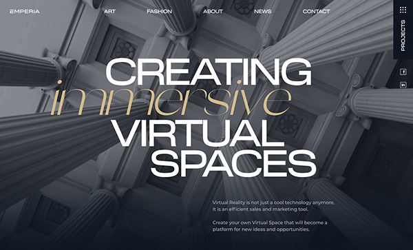 Web Design: 35 Creative UI/UX Websites for Inspiration - 30