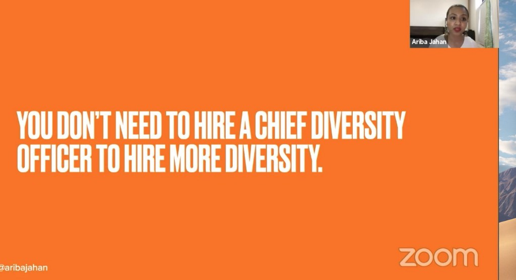 You don't need to hire a Chief Diversity Officer to hire more diversity