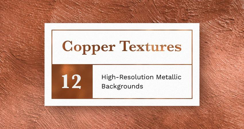 Copper free high-res textures