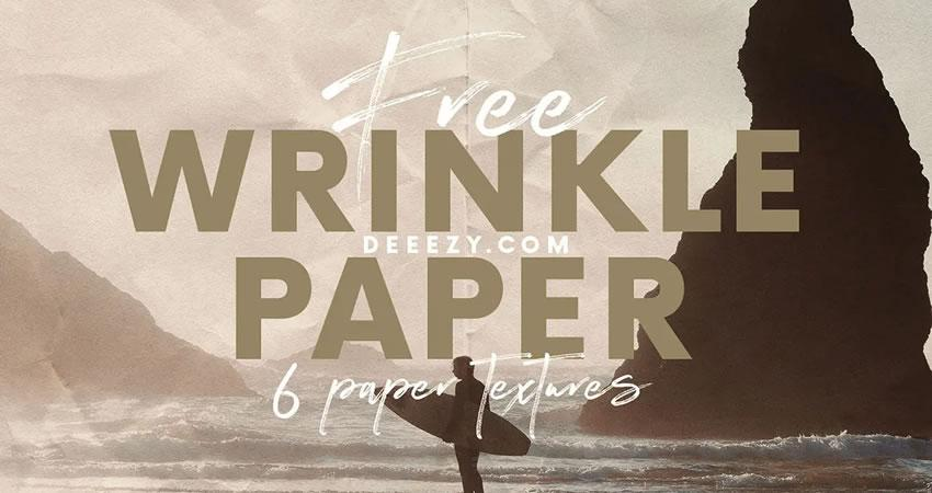 Wrinkle Paper free high-res textures