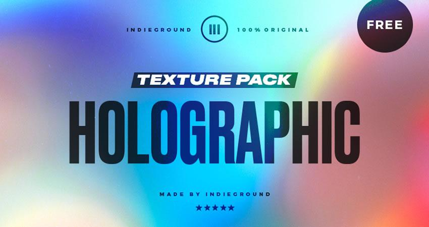 Holographic free high-res textures