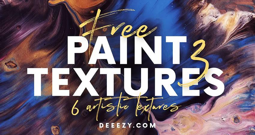 Artistic Paint free high-res textures