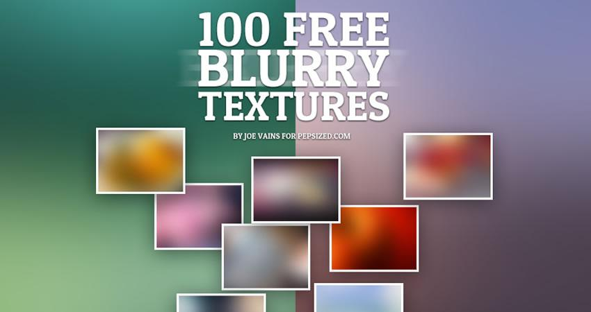 Blurry free high-res textures