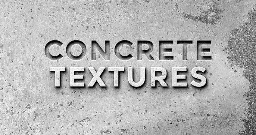 Concrete free high-res textures