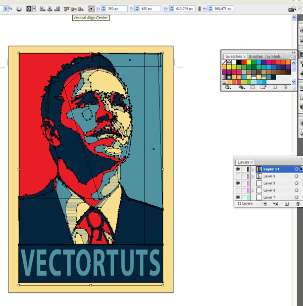 Political Poster Tutorial