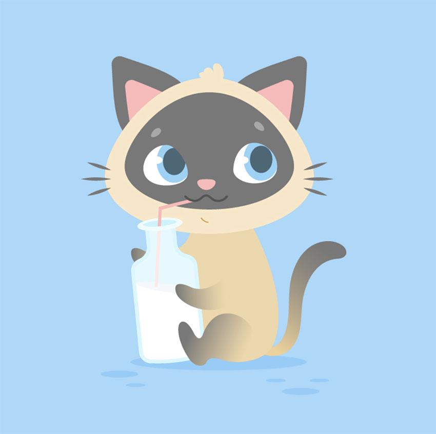 How to Create a Cute Cartoon Kitten in Adobe Illustrator