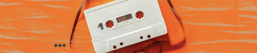 SoundCloud Banner Maker with a Picture of a Cassette