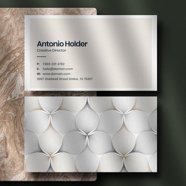 Creative Business Card & Mockup