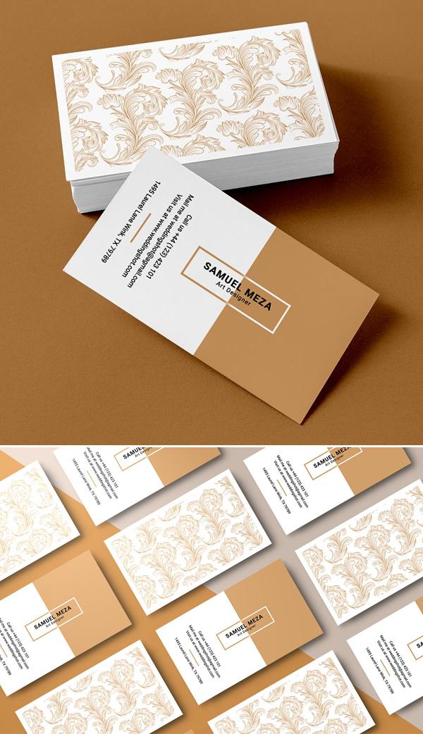 Creative Agency Business Card Design