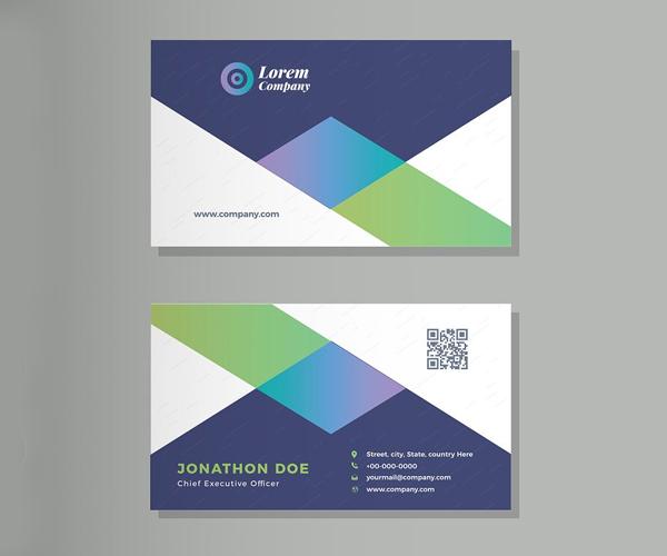Elegant Corporate Business Card Design