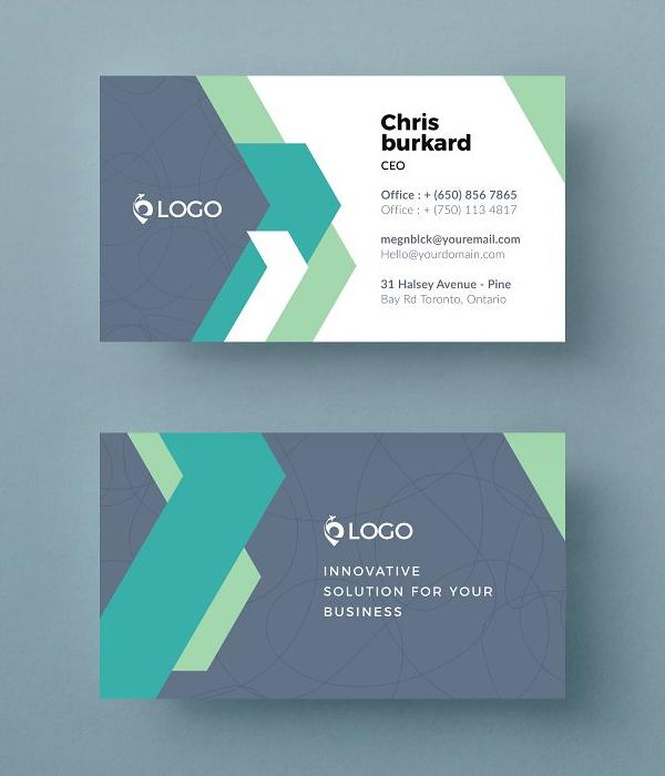 Perfect Modern Business Card Template