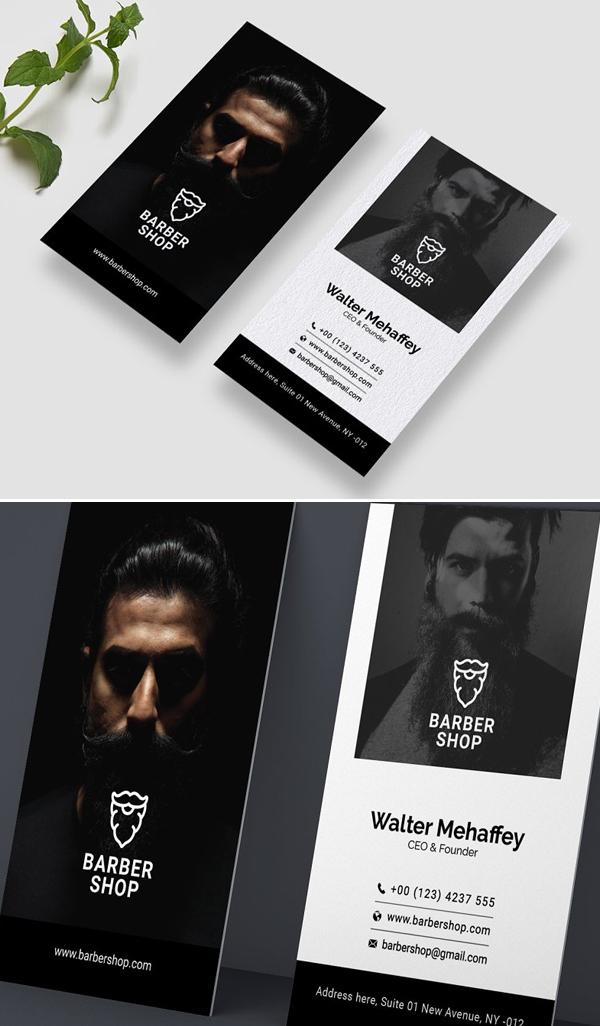 Barbershop Business Card Design