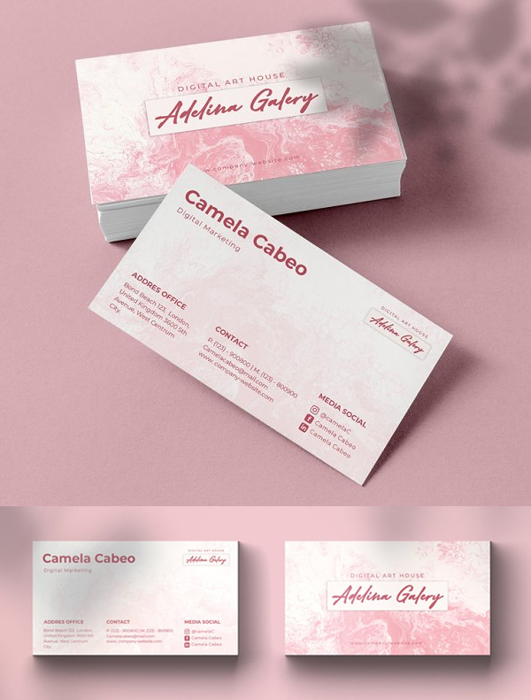 Adelina Business Card Template