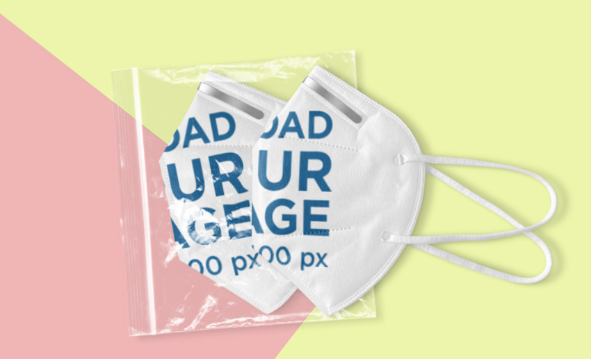 Dual Folded and Packaged Face Mask Generator