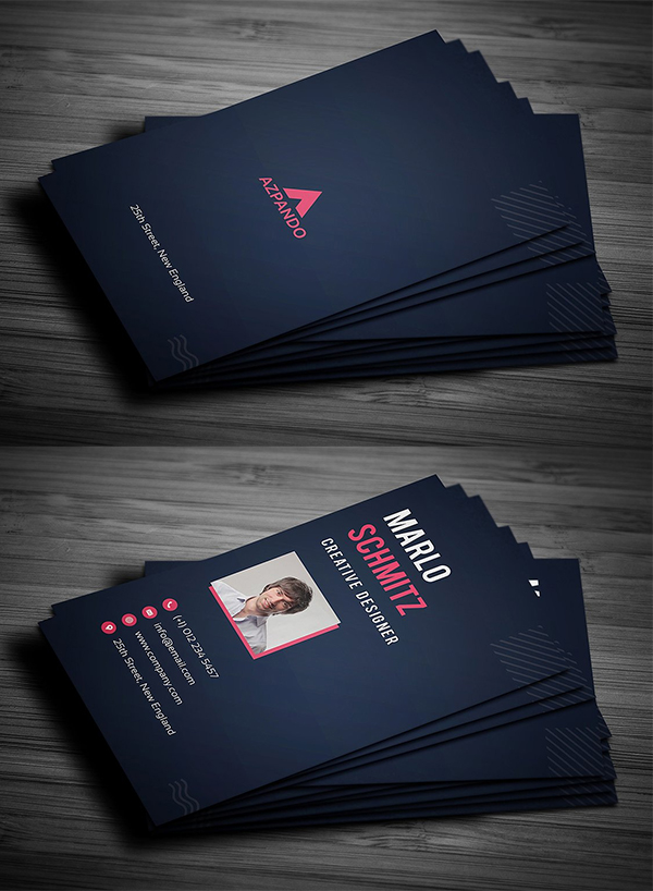 Fresh Simple Business Card