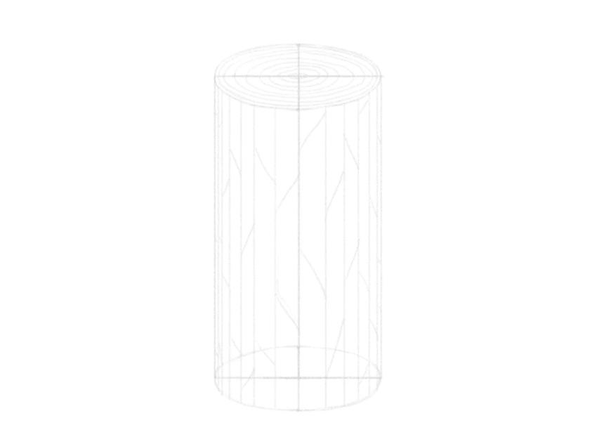 how to draw woodgrain