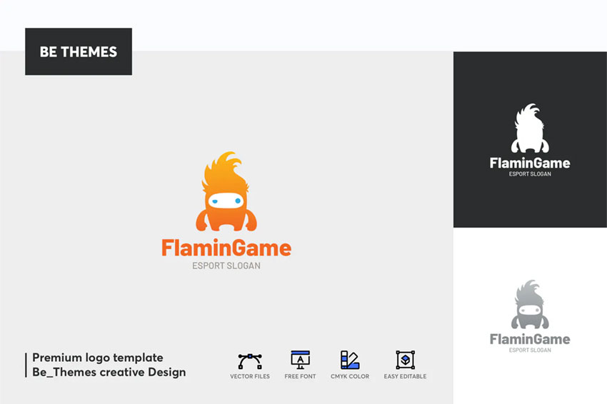 Flamin Game Logo