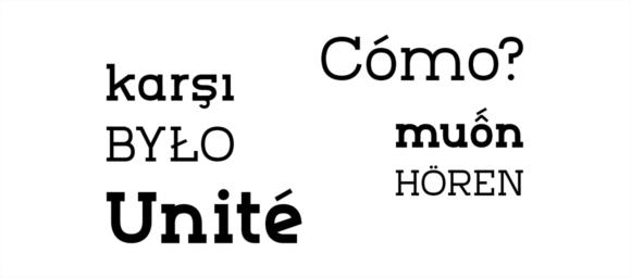 Marmo font sample 07
