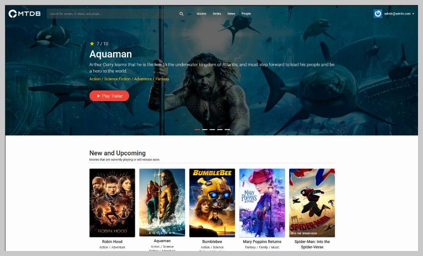 MTDb Movie Database