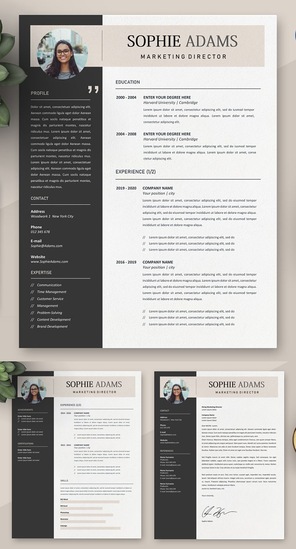 Perfect Simple Resume Template